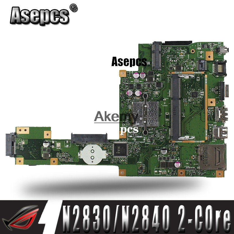 Asepcs X553MA Laptop motherboard for ASUS X553MA X553M A553MA D553M F553MA K553M Test original mainboard N2830/N2840 2-Core CPUAsepcs X553MA Laptop motherboard for ASUS X553MA X553M A553MA D553M F553MA K553M Test original mainboard N2830/N2840 2-Core CPU