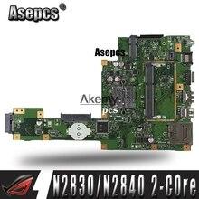 Asepcs X553MA материнская плата для ноутбука ASUS X553MA X553M A553MA D553M F553MA K553M Тесты оригинальная материнская плата N2830/N2840 2-ядерный Процессор