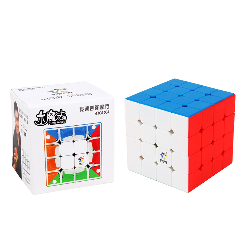 New Original Yuxin Little Magic 4x4x4 M Magnetic Cube 60mm Professional Zhisheng 4x4 Speed Cube Twist Educational Toys For Kid