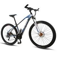 Горный велосипед 27 Скорость 29 дюймов колеса двойной дисковый тормоз Алюминий рамы велосипеда MTB Гидравлический тормоз дорожный мотоцикл