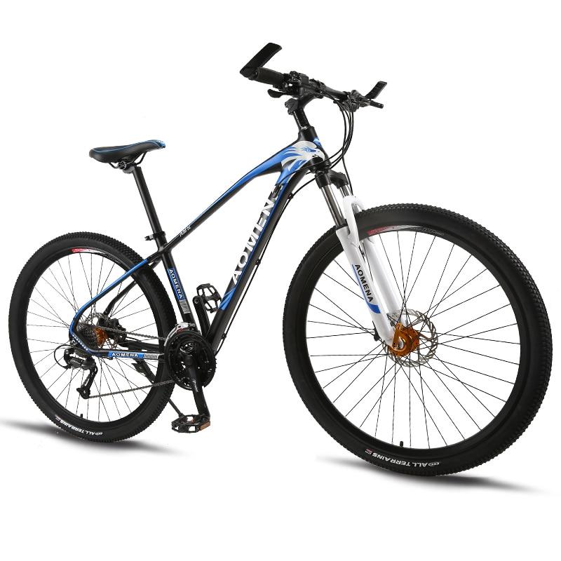 4b3c1869cd4 bicycle Mountain Bike 27Speed 29 Inches Wheels Dual Disc Brake Aluminum  Frame MTB Bicycle Hydraulic brake road bike