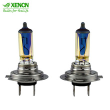 XENCN H7 PX26d Emark colorful 12V 65W White Diamond Light Colorful Car Bulbs Halogen Headlights Auto Lamp