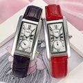 2017 chenxi assistir mulheres elegante retangular dial couro banda senhora de negócios relógios de quartzo relogios masculinos