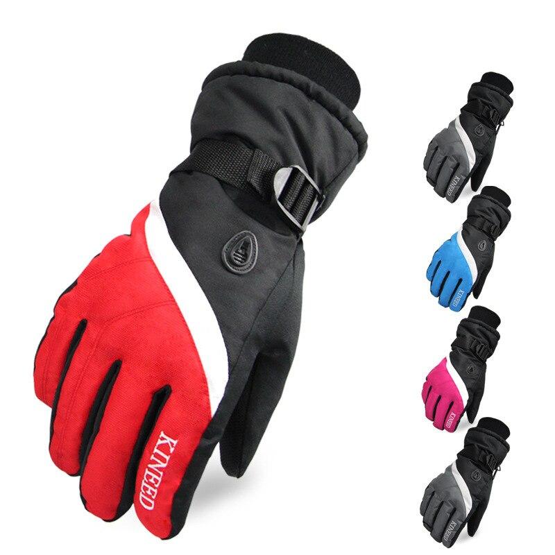 2015 guantes de Polar cálidos guantes de esquí de abrigo de snowboard guantes de