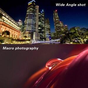 "Image 5 - 49 מ""מ 0.45X זווית רחבה מאקרו Fisheye עדשת צילום סופר מאקרו עבור Canon NIKON Sony PENTAX המצלמה SLR DSLR 49 מ""מ חוט עדשה"