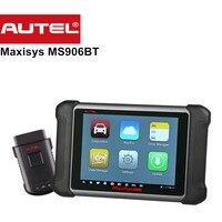 Original Autel DS708 Versão Atualizada MS906 MS906BT DS808 Bluetooth Codificação ECU Ferramenta de Diagnóstico OBD2 Scanner Leitor de Código de OBDII