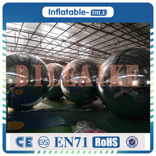 Free Shipping 1m Diamete Inflatable Mirror Surface Christmas Ball Disco