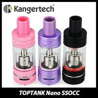 Đích thực Kanger TOPTANK Nano Clearomizer 3.2 ml với SSOCC Atomizer Head Top Điền Luồng Không Khí Điều Chỉnh Xe Tăng Phun E-cig Vape