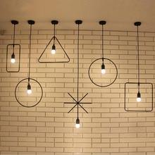 Подвесной Светильник Классический Декоративный Loft Огни Американский Кантри LED Подвесной Светильник E27/E26 120 В-240 В