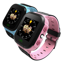 Y21 Child's safety Smart Watch Touch screen with flashlight Locator Tracker Anti-lost SOS call phone English/Russian Q528