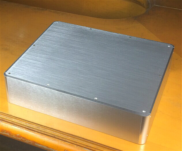 BZ3809H  Full Aluminum Enclosure / AMP case/power amplifier box/ chassis PSU BOX 4308 rounded chassis full aluminum enclosure power amplifier box preamplifier chassis