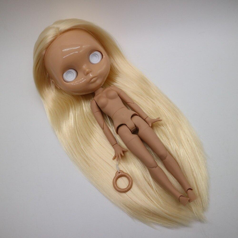 Ohne augen chips joint körper Nude blyth puppe für DIY blond haar Mode puppe 20181227-in Puppen aus Spielzeug und Hobbys bei  Gruppe 1