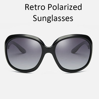 ZOKARE Women Polarized Sunglasses Outdoor Driving Fishing Glasses Female Retro Eyewear Polaroid oculos de sol masculino C3113