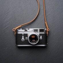 Mr.stone Handmade Genuine Leather Camera Strap Camera Shoulder Sling Belt (Winding)
