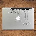 "Закон Всемирного Тяготения ньютона Наука Ноутбука Наклейка Наклейка для Apple MacBook 11 ""12 13 15 Air Pro Retina Mac Кожи HP Mi Ноутбук Наклейки"