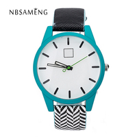 2016 Watch Feifan Brand Women Watches With Leather Strap 20mm Band Fashion Casual Case 8 Colors