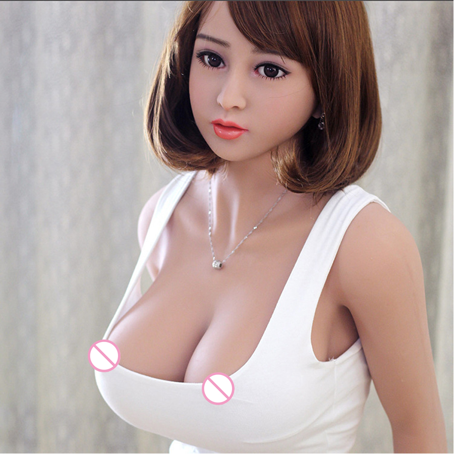 158cm Big Breast Real Silicone Sex Doll Adult Oral Love Doll Realistic Sexy Toys for Men TPE Dolls Metal Skeleton boneca sexua in Sex Dolls from Beauty Health