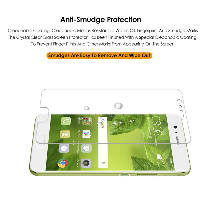 2.5D 9 H Tempered Glass For Huawei P 10 Lite Plus Glass For Huawei P10 P10 Lite P10 Plus Case Screen Protector Film Cover 2pcs
