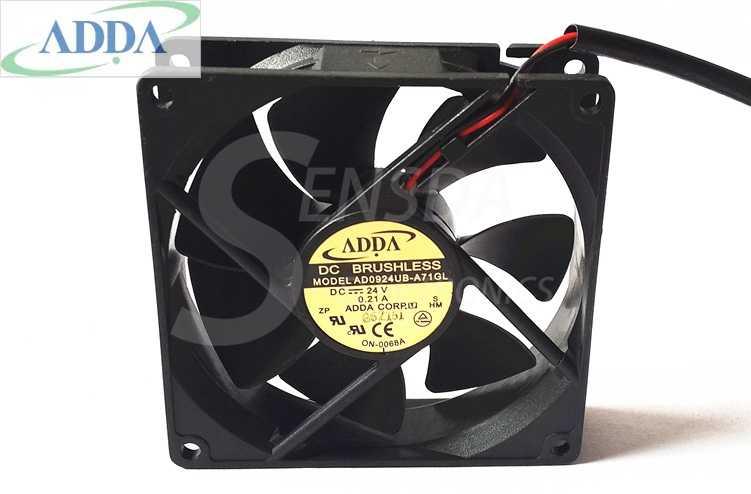 Großhandel FÜR ADDA AD0924UB-A71GL 9025 90mm DC 24 V 0.21A cpu kühler kühlkörper axiale Lüfter