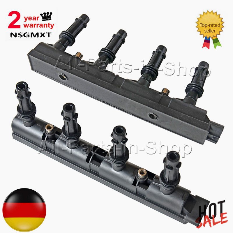 Ap02 pacote de bobina de ignição para opel vauxhall astra j adam corsa 1.4-7 pinos 55579092 55575499 55573735 55579072 1208093 1208096