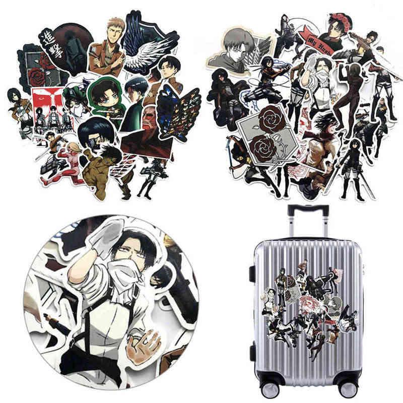 21 개/대 타이탄 스티커 애니메이션 아이콘 동물 스티커 선물 어린이 노트북 가방 자전거 자동차 DIY PVC 스티커
