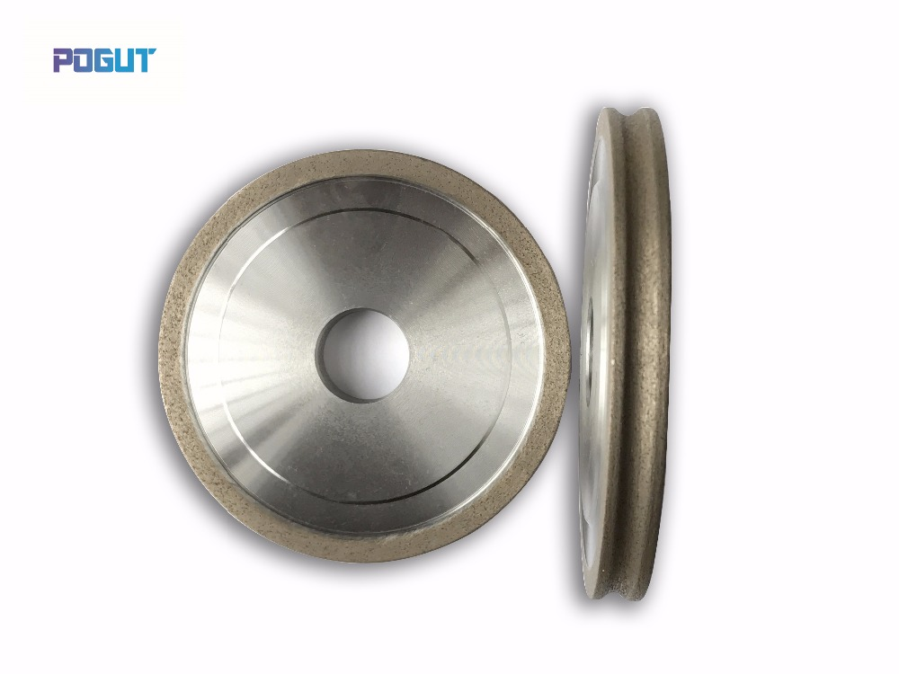 Diamond Grinding Wheel 100 22 4 5 6 8 10 12 15 19mm Peripheral Daimond Polishing