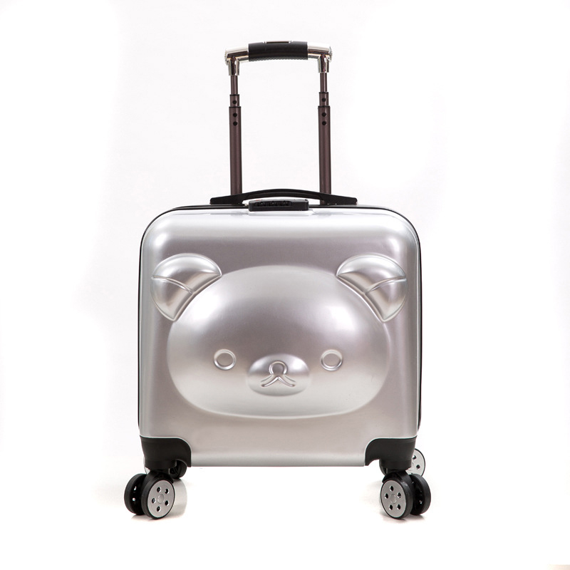 18/20 inch PC+ ABS girl cartoon Pull rod box trolley case 3D child Travel luggage anime suitcase kids Boarding box with wheel18/20 inch PC+ ABS girl cartoon Pull rod box trolley case 3D child Travel luggage anime suitcase kids Boarding box with wheel