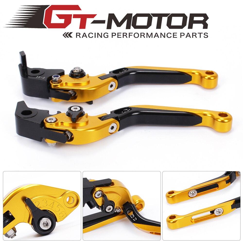 GT Motor - F-11/M-11 Adjustable CNC 3D Extendable Folding Brake Clutch Levers For KTM RC8 / R  09-16  1290 Super Duke R/GT14-17 adjustable billet extendable folding brake clutch levers for bimota db 5 s r 1100 2006 11 07 09 10 db 7 08 11 db 8 1200 08 11