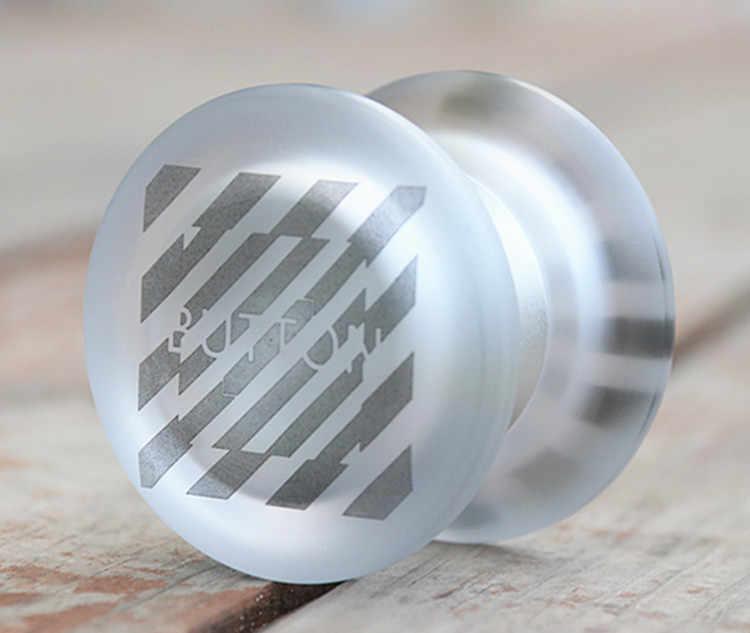 Neue Kommen TOPYO Taste YOYO CNC metall PC gummi yoyo für Professionelle wettbewerb