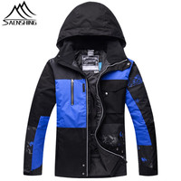 Saenshing New Ski Jacket Men Snowboard Snow Jacket Winter Waterproof Warm Skiing Snowboarding Clothes Male Outdoor
