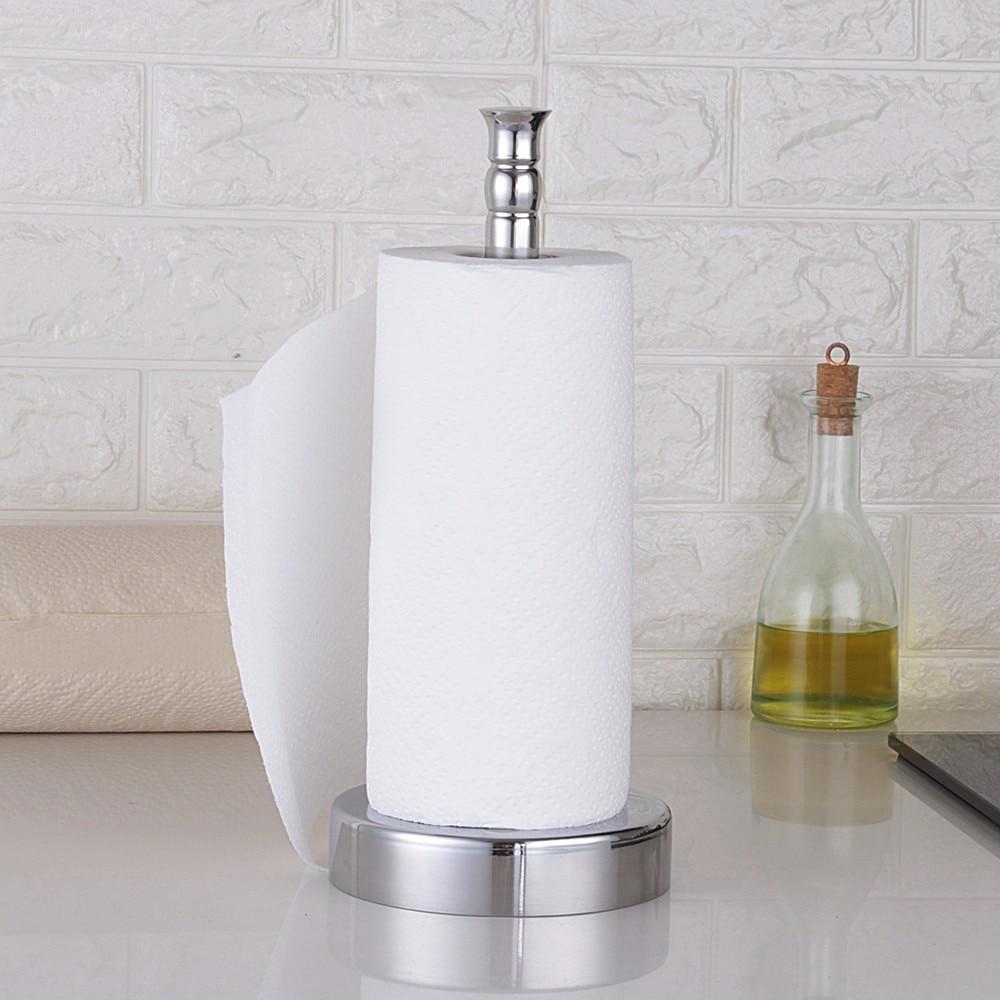 Paper Towel Holder Stainless Steel Paper Roll Holder Bathroom Toilet Kitchen Rack L719