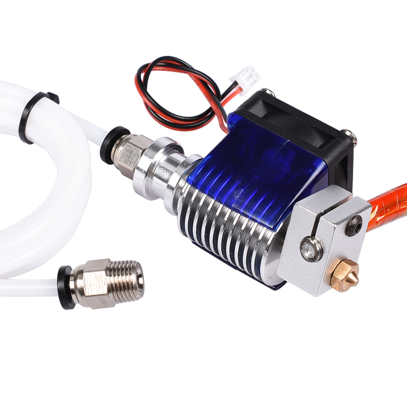 3D Printer J head Hotend with Single Cooling Fan for 1 75mm 3 0mm 3D v6