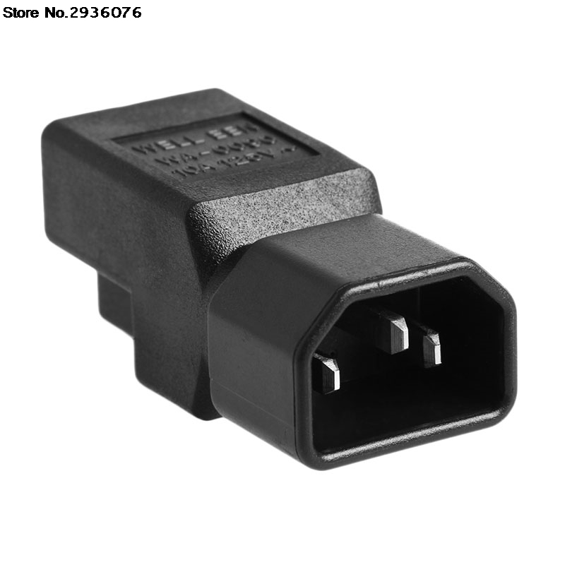 все цены на IEC 320 C14 Male To Nema 5-15R USA Female Power Adapter Converter For UPS/PDU онлайн