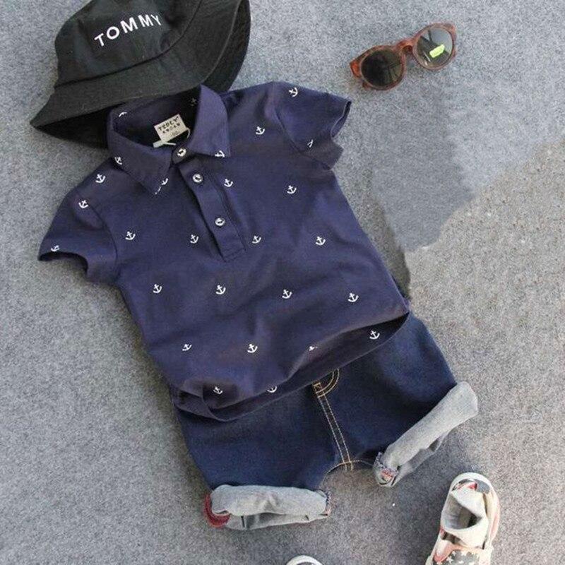 Nueva Moda Niños Ropa de Chicos de Verano Impresión de Camiseta + Short Boy Jueg