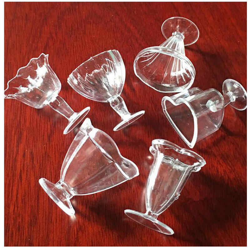 12 pçs diy miniatura sobremesa copo jóias acessórios artesanal artesanato utensílios de mesa simulação ferramentas de plástico fimo argila decoração da casa bonecas