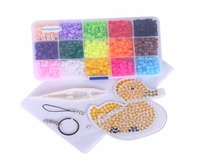 New Hama Perler Beads 15 Colors Set Kids DIY Fuse Beads Jigsaw Puzzle Handwork Educational Toys