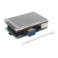 3 5 Inch 480x320 60Fps HDMI LCD Touch Screen For Raspberry Pi 3 Model B 2B