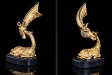 Art Deco Sculpture Giraffe African Animal Bronze Statue decoration bronze factory outlets