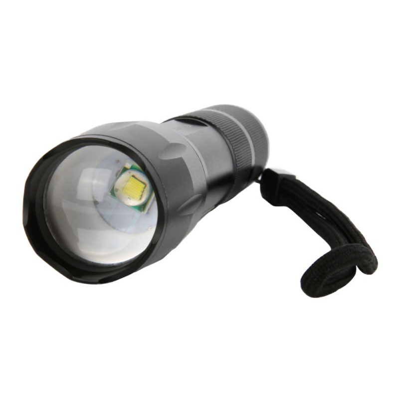 Stretch Zoom 4-speed Dimming Glare Zoom Flashlight Mini Portable COB Led Lamp Durable Strong Light Torches