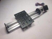 Swmaker reprap 3d impressora peças sapre v-slot para nema 17 linear atuador pacote (parafuso de avanço)-eixo z router kit 250mm