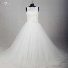 RSW1174 Real Pictures Yiaibridal Sleeveless Boat Neckline