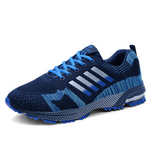 Men Outdoor Running Shoes Lightweight Breathable Mesh  Couple Sneakers Trainers  Women Hiking Shoes men women running shoes classic mesh breathable lightweight sports sneakers athletic trainers