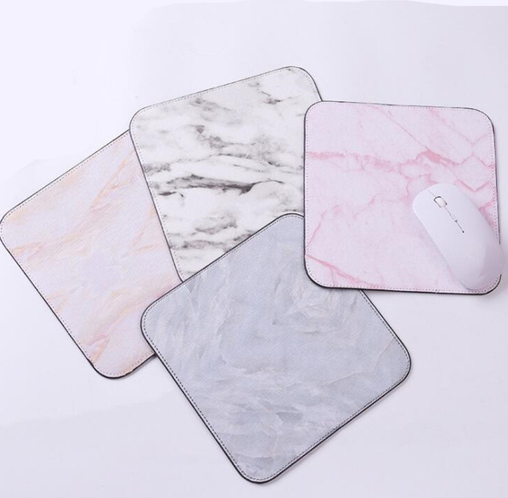 1pcs Marble Mouse Mat Office Desk Accessories Set Office Desk Organizer School Supplies Desk Tools