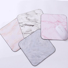 1pcs Marble Mouse Mat Office Desk Accessories Set Office