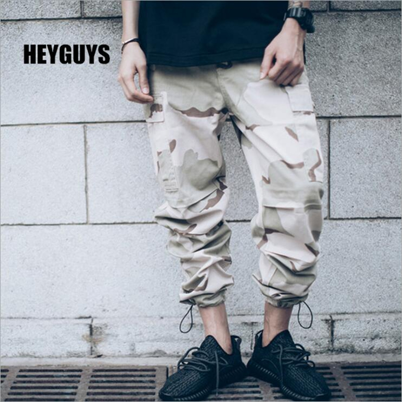 2d1980b9655 Detail Feedback Questions about HEYGUYS fashion camouflage pants men kaki black  new african clothes hip hop street jumpsuit camo cargo loose men s ...