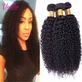 Crochet Hair Extensions Brazilian Kinky Curly Virgin Hair 3 Bundles Grade 7a Unprocessed Afro Kinky Curly Hair Human Hair Weave