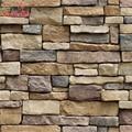 Waterproof Stone Brick Wall Sticker Self adhesive Wallpaper Home Decor Wall Art Decal Living Room Bedroom Bathroom Kitchen Decor