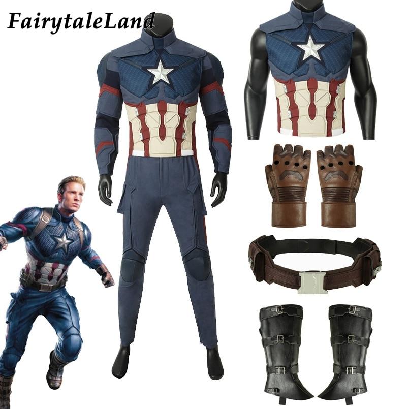 Boys Captain America Avengers Gloves Costume Accessory