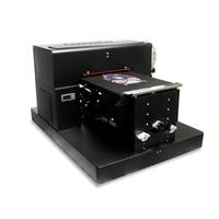 A3 size flatbed printer textiles T shirt printer fabric printing machine dtg printer black white color flatbed printer