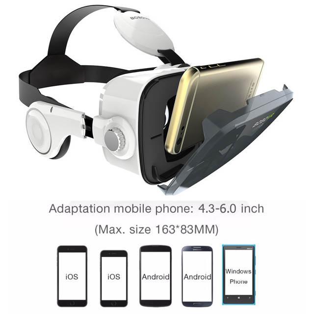 86dab4d49b96f placeholder Z4 BOBOVR óculos de Realidade Virtual óculos 3D Caixa Google  papelão vr bobo fone de ouvido